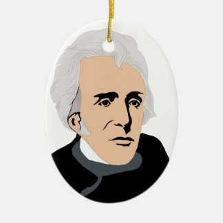 American Presidents: Andrew Jackson  1829 - 1837 Ceramic Ornament