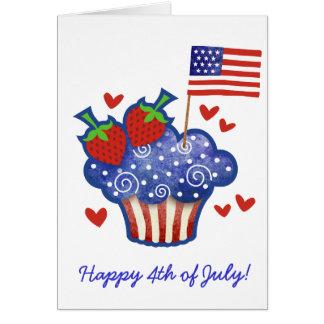 American Pride Cupcake Cards