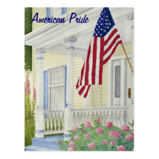 American Pride - Customizable Postcard