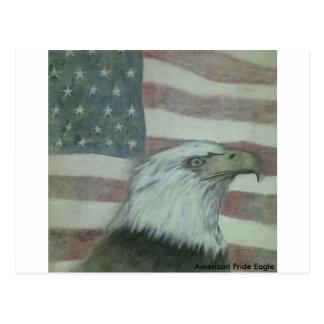 American Pride Eagle Postcard
