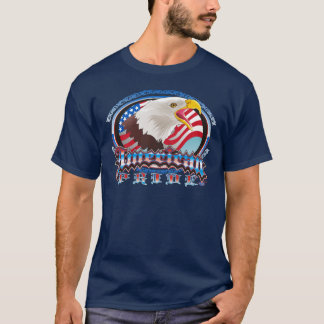 American Pride Eagle shirt design