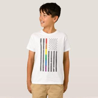 American Pride Flag Boy's T-Shirt