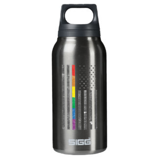 American Pride Flag Dark Sigg Hot & Cold Bottle
