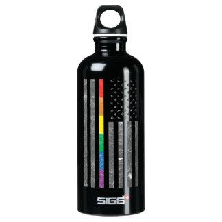 American Pride Flag Dark Sigg Water Bottle