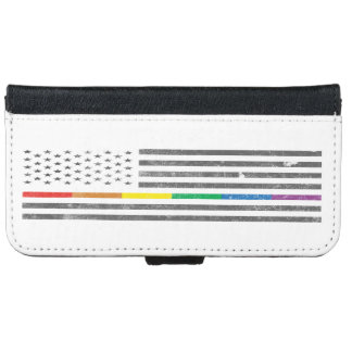 American Pride Flag iPhone & Samsung Wallet Case