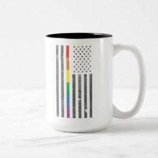 American Pride Flag Large Mug