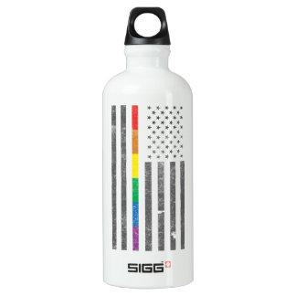 American Pride Flag Sigg Water Bottle