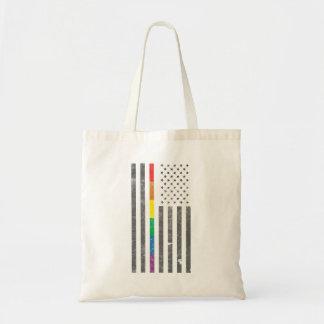 American Pride Flag Tote Bag