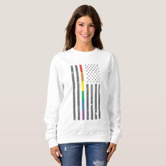 American Pride Flag Women's Basic Sweatshirt