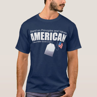 AMERICAN Principles and Values T-Shirt