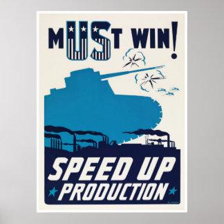 American propaganda during World War II Poster