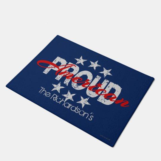 American Proud Patriotic Door Mat