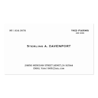 American Psycho Buisness Card Pack Of Standard Business Cards