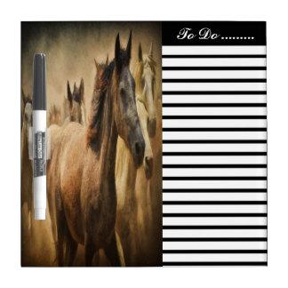 American Quarter Horse Dry-Erase Board