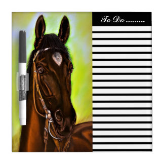 American Quarter Horse Dry-Erase Whiteboards