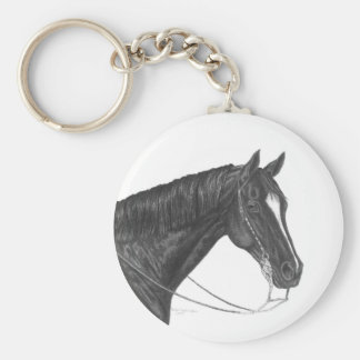 American Quarter Horse Keychain
