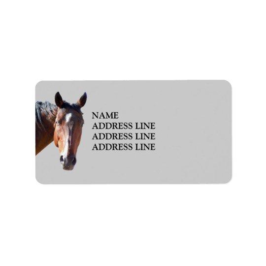 American Quarter Horse - Western Return Address Address Label