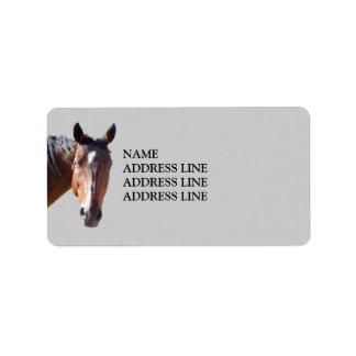 American Quarter Horse - Western Return Address Label