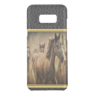 American Quarter Horse with a gold foil design Uncommon Samsung Galaxy S8 Plus Case