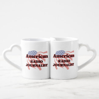 American Radio Journalist Lovers Mug