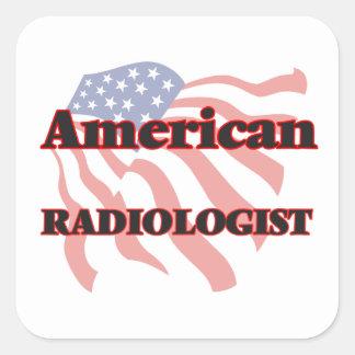 American Radiologist Square Sticker
