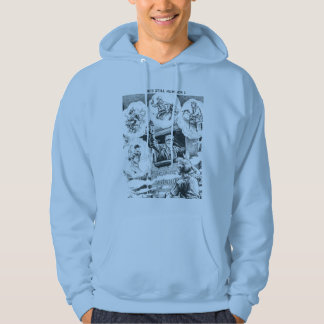 American Railroad Train Engineer Hoodie