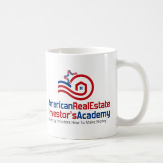 American Real Estate Investors Academy Logo Gear Coffee Mug