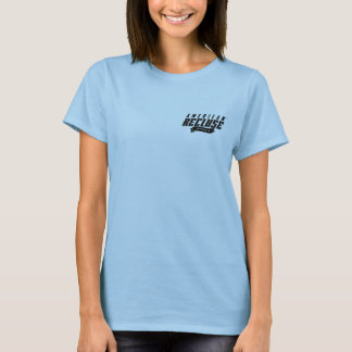 American Recluse Lt. Blue Ladies T-Shirt