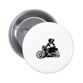 American Recluse Monkey Rider Pinback Buttons