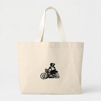American Recluse Monkey Rider Canvas Bag