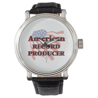American Record Producer Wristwatches