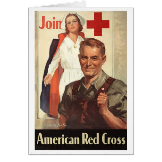 American Red Cross Greeting Card