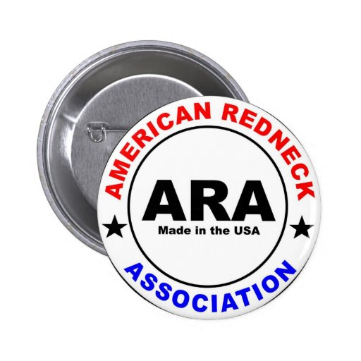 American Redneck Association Pins