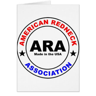American Redneck Association Greeting Cards
