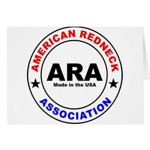 American Redneck Association Greeting Cards