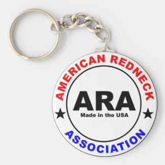 American Redneck Association Keychain