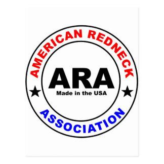 American Redneck Association Postcard