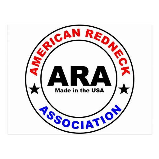 American Redneck Association Post Cards
