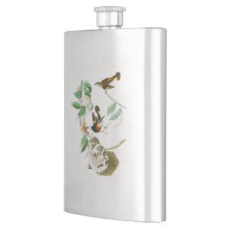 American Redstart John James Audubon Birds America Flasks