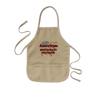 American Restaurant Manager Kids Apron