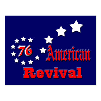 American Revival Post Cards