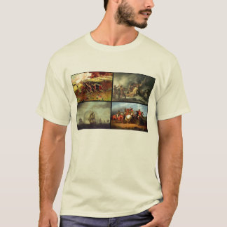 American Revolutionary War collage T-Shirt