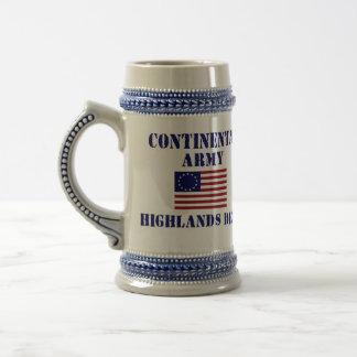 American Revolutionary War Decorative Stein Beer Steins
