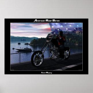 American Road Series #2 Poster