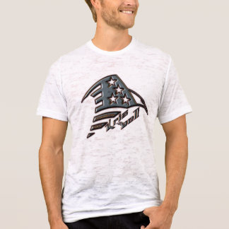 American Rock Eagle Burnout T T-Shirt