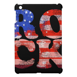 american rock music word flag case for the iPad mini