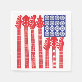 American Rock Paper Napkin