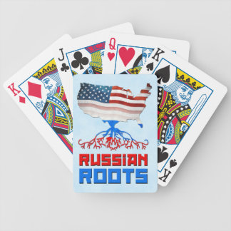 American Russian Roots Playing Cards
