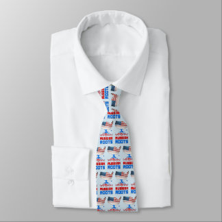 American Russian Roots Tie
