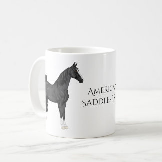 American Saddle-bred Horse Coffee Mug